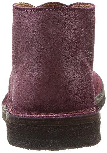 Pèpè 1016 Nf, Chaussures de ville fille Rouge (Jubilee Lampone)