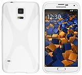 mumbi X-TPU Schutzhülle für Samsung Galaxy S5 / S5 Neo Hülle weiss