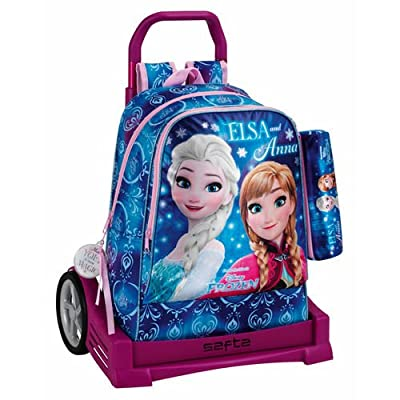 Frozen Northern Lights Mochila Escolar, 43 cm, Azul por Frozen