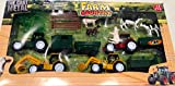 Die Cast Farm vehicles & Farm animals. Tractor and animal farm set