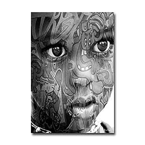 Tableau Imprimé boy's tatoo-55 x 80 cm - BONIDAY