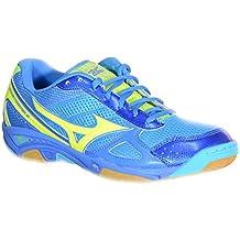 Mizuno - Mizuno Wave Twister 3 Zapatos Deportivos Azul Tejido 147245 - Blu, 44