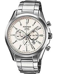 Casio Herren-Armbanduhr Edifice Chronograph Quarz Edelstahl EFB-504D-7AVEF
