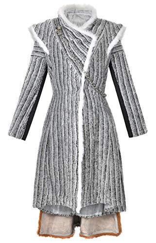 Kostüm Winter - cosplaystudio Game of Thrones Kostüm Winter Mantel von Daenerys Targaryen aus Staffel 8, Größe: L