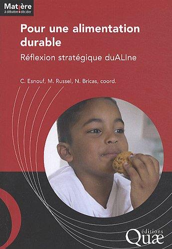 Pour une alimentation durable: Réflexion stratégique duALIne.