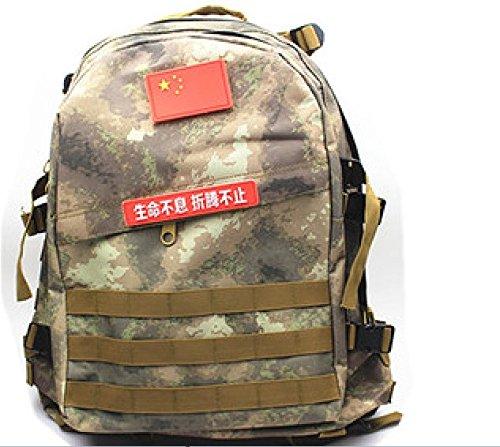LWJgsa Outdoor - Fan Packt Camouflage - Taktik Rucksack Tour Camping Spezialeinheiten In Der Tasche die tarnung