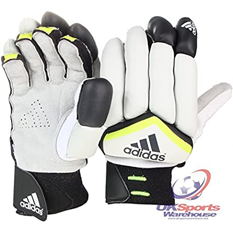 Adidas Cricket Guanti da Battitore Bambini e ragazzi (per) RRP 35, Boys RH
