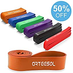 arteesol Fitnessbänder (Orange)