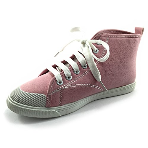 Dreamrax Womens Pink Casual Sneakers