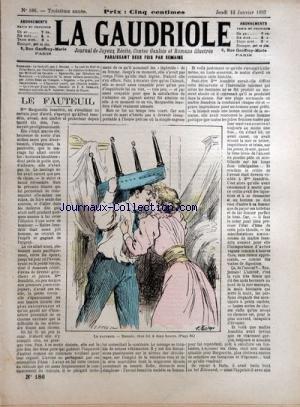 GAUDRIOLE (LA) [No 184] du 05/01/1893