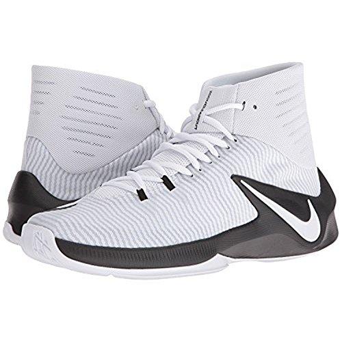 Nike Zoom Clear out scarpa da basket Black/white/pure Platinum