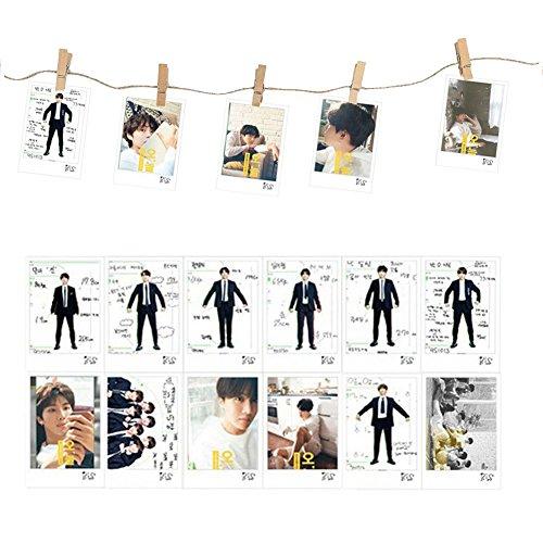 ALTcompluser Kpop BTS Bangtan Boys 16 Stück Lomo Photocard Fotokarten Set, Jungkook,Jimin,V,Suga,Jin,J-Hope,Rap Monster Lomo Cards Karten Geschenk für Army(#2) -