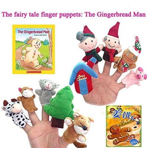El cuento hadas juguetes peluche lindo dedo muñeca