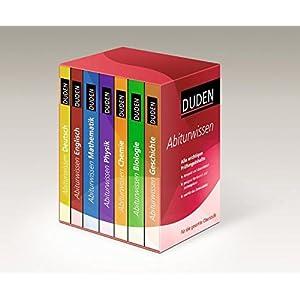 Duden - Abiturwissen: Alle wichtigen Prüfungsinhalte - kompakt und übersichtlich in 7 Bänden