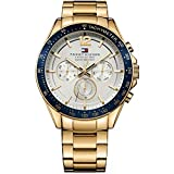 Tommy Hilfiger White Dial Analogue Watch for Men (TH1791121J)