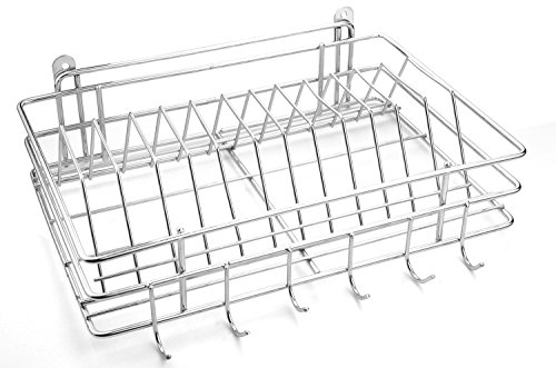 HMSTEELS Stainless steel 12 Plate and 6 cup stand