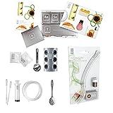 Molecule-R–Kit de Cocina Aroma Combo gastronomía Molecular y aromafork con Chocolate volátiles Aroma Enhancing–Especial Doble Pack