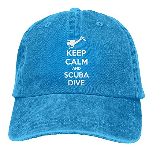 Voxpkrs Trucker Cap Keep Calm and Scuba Dive Diving