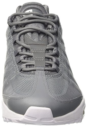 Nike Air Max '95 Ultra Essential, Sneakers Basses Homme Gris (Cool Grey/white/white)