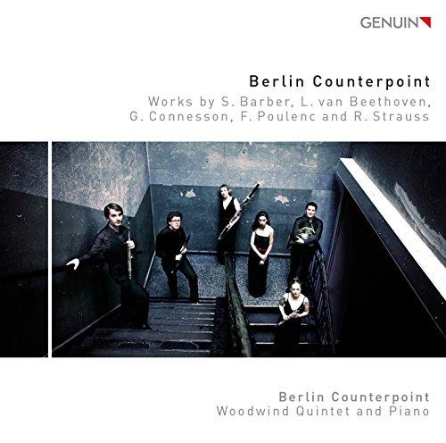 Berlin Counterpoint - Werke für Bläser und Klavier von Poulenc, Beethoven, Barber u.a