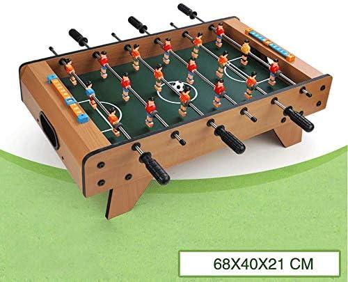 Little Toys Jeu de Table Table Table de Football en Bois pour  s Jeu de Table Jeu de société Parent-  DivertisseHommes t Puzzle Plusieurs Personnes Garçon  s Jouets éducatifs (Taille : C) dddaff