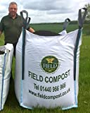 Field Compost Ltd High Quality Ornamental Bark Mulch (Huge 1000L bulk bag!!)