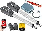 Sommer Twist 350 Drehtorantrieb 2-flüglig + WLAN + Lichtschr. 7020 + Warnlicht 24V Set 5in1A