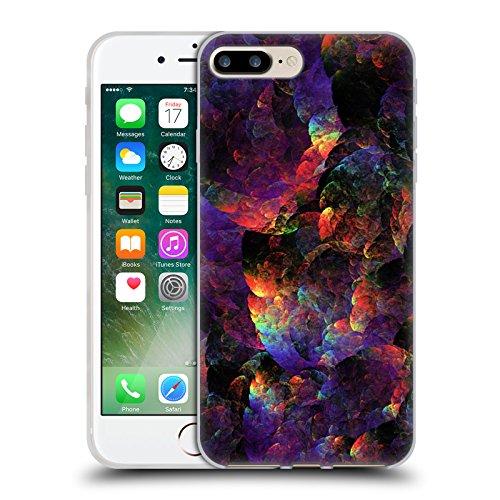 Offizielle Andi GreyScale Schillernde Drachen Lebendig Soft Gel Hülle für Apple iPhone 5c Schillernde Drachen