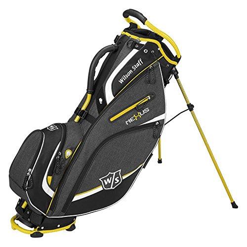 Wilson Golf WGB5700OY Sac Homme, Noir/Jaune, Taille Unique