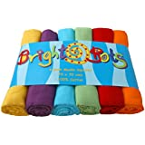Bright Bots Unisex Combo Muslin Squares (70 cm, Pack of 6)