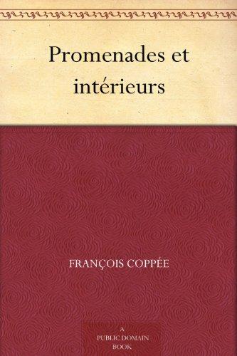 Couverture du livre Promenades et intérieurs