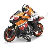 New Ray Funk RC Repsol Honda Team - Dani Pedrosa - Honda RC212V 27 MHz 1:9 Neu