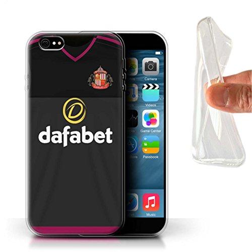 Offiziell Sunderland AFC Hülle / Gel TPU Case für Apple iPhone 6+/Plus 5.5 / Mannone Muster / SAFC Trikot Away 15/16 Kollektion Torwart