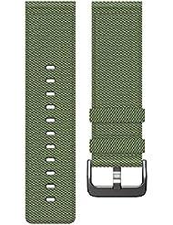 Fitbit Blaze Nylon Accessory Band, olive, Small