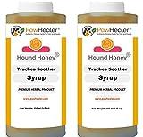 PawHealer Heilkräutersirup aus natürlichem Honig für die Symptome der kollabierten Luftröhre (150 ml/Flasche)