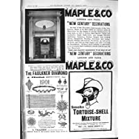 ECCLESIASTICO 1901 DELLA MISCELA DELLA CARAPACE DEL DIAMANTE DI FAULKNER DELL'ACERO DELLA