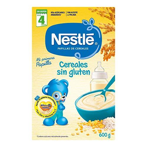 Nestlé - Papillas Cereales Sin gluten A Partir De