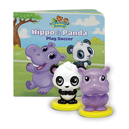 LeapFrog Learning Friends Hippo and Panda figures with Board Book