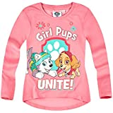 Paw Patrol Chicas Camiseta mangas largas 2016 Collection - fucsia