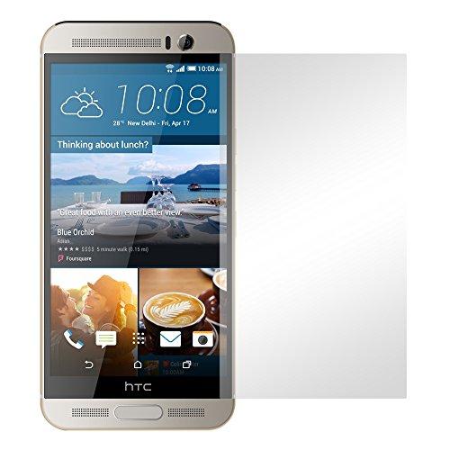 Slabo 4 x Displayschutzfolie für HTC One M9+ Displayfolie Schutzfolie Folie Zubehör Crystal Clear KLAR