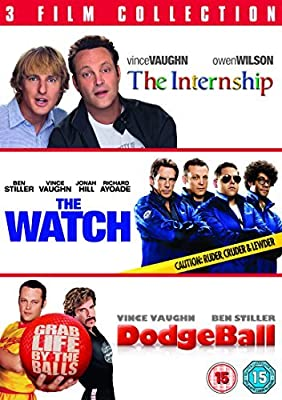 The Internship/ The Watch/ Dodgeball [DVD] by Vince Vaughn
