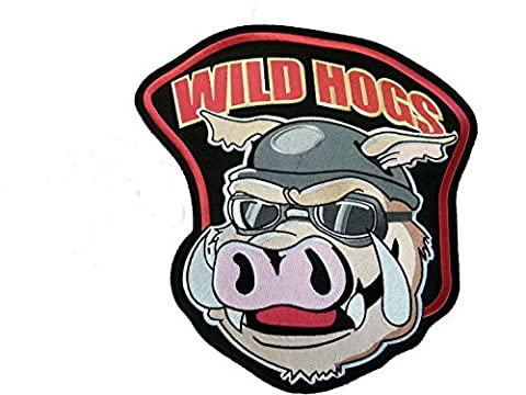 Wild Hogs Movie Biker Chest/shoulder Patch 4x4 inches