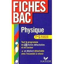 Physique Tle S : Enseignement obligatoire et enseignement de spécialité by Dominique Noisette (2006-03-08)