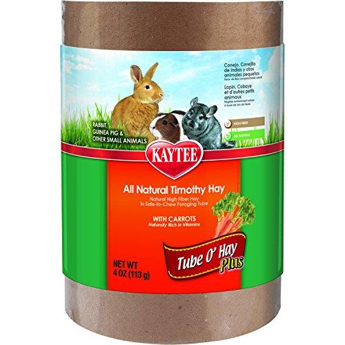 kaytee-tube-o-hay-plus-carrots-timothy-natural-fiber-complete-food-medium-4oz