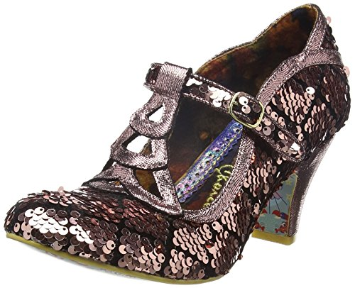 Irregular Choice - Nicely Done, Scarpe col tacco Donna Multicolour (Metallic)