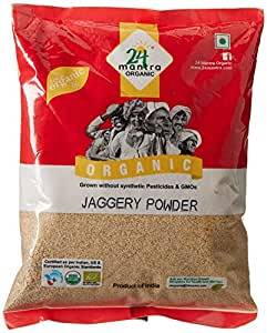 24 Mantra Organic Products Jaggery Powder, 500g