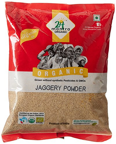 24 Mantra Organic Products Jaggery Powder, 500g  available at amazon for Rs.75