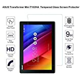 ASUS Transformer Mini T102ha 25,7 cm protection d'écran en verre trempé – Fiimi protection d'écran pour Asus T102ha-d4-gr Transformer Mini 25,7 cm 2 en 1 écran tactile pour ordinateur portable, dureté 9 H, épaisseur de 0,3 mm, fabriqué à partir de verre véritable