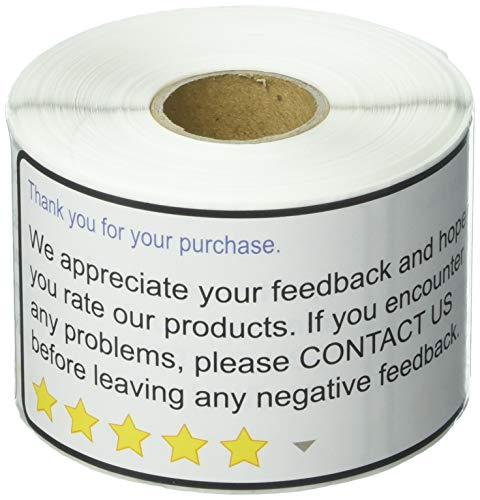 Vielen Dank für Ihren Kauf 5,1x 10,2cm Amazon Walmart eBay vielen Dank für Ihren Kauf Positive Negative Feedback-parent 1 Roll - Walmart-e-karte