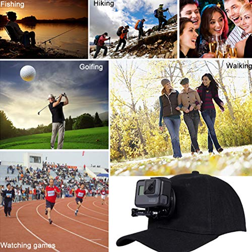 Zoom IMG-2 runfon fotocamera cappello da baseball